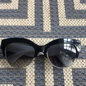 Kate Spade Two tone Cat Eye Sunglasses
